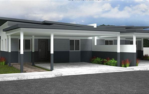 House Feature: The Montana [Three Bedroom, Low-Set Duplex Unit]