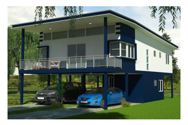House Feature: The Raggiana 2.0 [Three Bedroom, High-Set Standalone House]